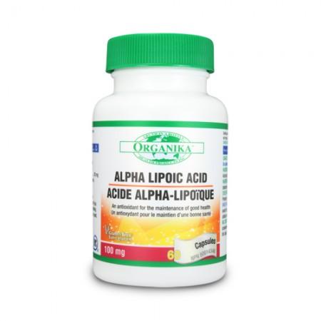 Alfa liponsav - 100 mg - 60 kapszula
