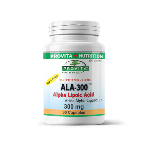 ALA-300 forte - Alpha Lipoic Acid (alfa liponsav)