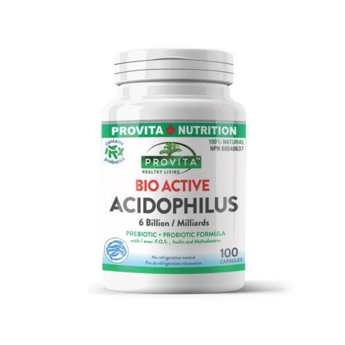 Bio-aktív Acidophilus - 100 kapszula