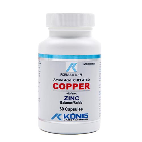 Copper - réz, cink egyensúllyal - egy lényeges nyomelem