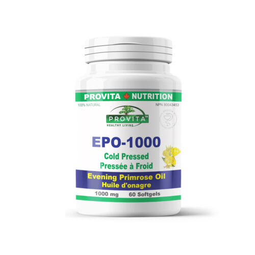 EPO-1000 - Evening Primrose Oil (ligetszépe olaj)
