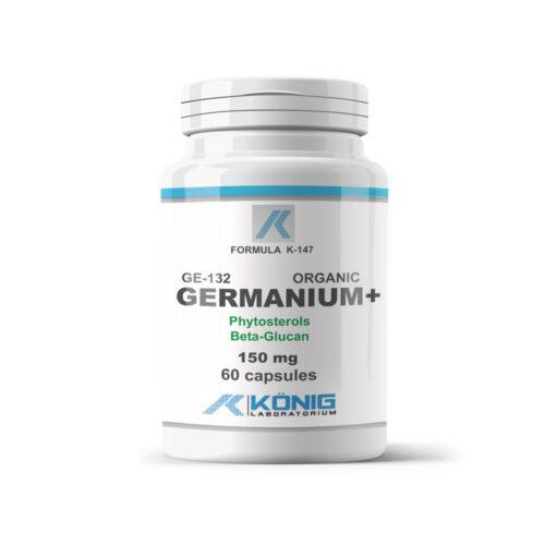 Szerves germanium 132 fitoszterolokkal és béta-glükánnal