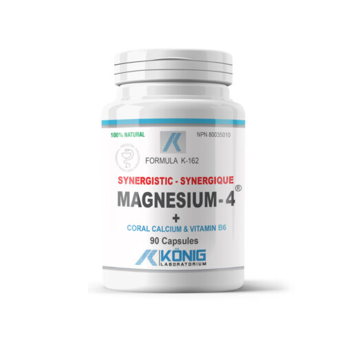 Magnesium-4 - Szinergikus magnézium korall kálciummal és B6 vitaminnal