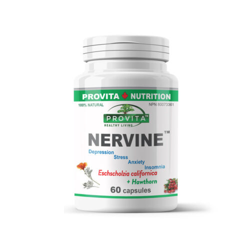 Nervine - stressz, inszomnia, szorongás esetén