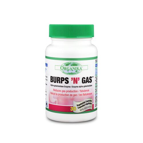 Burps'N'Gas - semlegesíti a gyomorban található gázokat