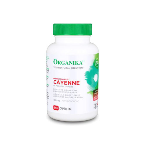 Cayenne - növényi táplálék-kiegészítő