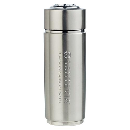 Santevia - lúgosító termosz - energy flask - ezüst