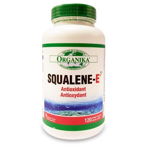 Squalene (szkvalén) - cápa májból kivont olajkivonat