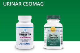 Urinar csomag, kitisztítja a húgyúti rendszert