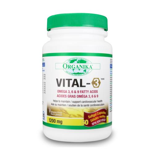 Vital-3 - Omega 3-6-9 összetevő