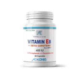 E8 vitamin forte 400 UI béta-karotinnal