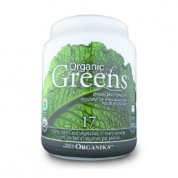 Organic Greens drink mix powder