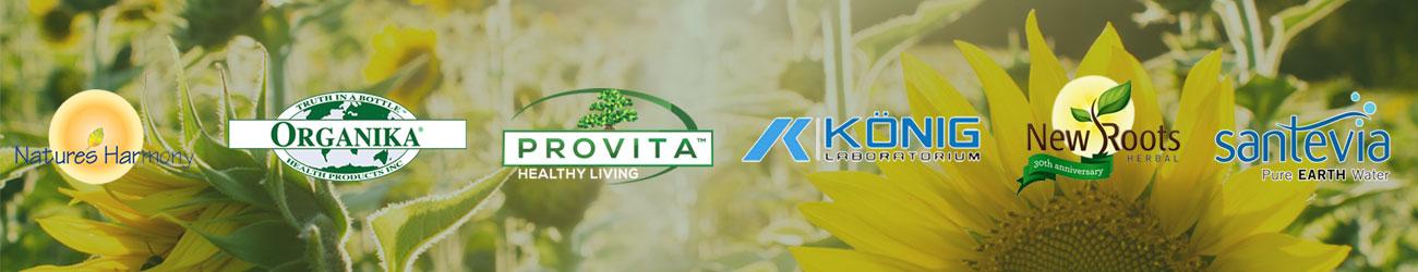 Forgalmazók: Provita, Organika, New Roots Canada, Santevia, Konig Laboratorium
