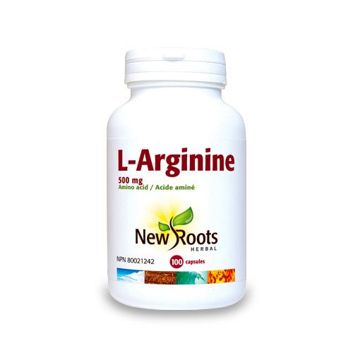 L-arginine, New Roots Herbal