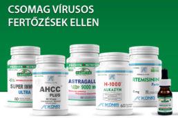 Csomag vírusos fertőzések ellen