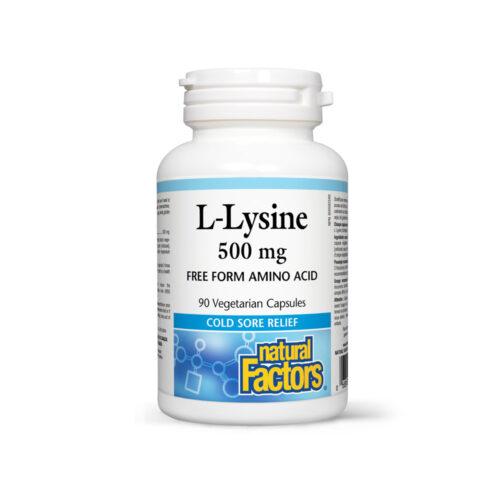 L-Lysine 500 MG - ERŐSÍTI AZ IMMUNRENDSZERT
